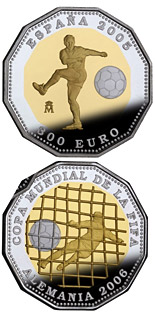 300 euro coin 2006 FIFA World Cup Germany - 2005 Issue | Spain 2005