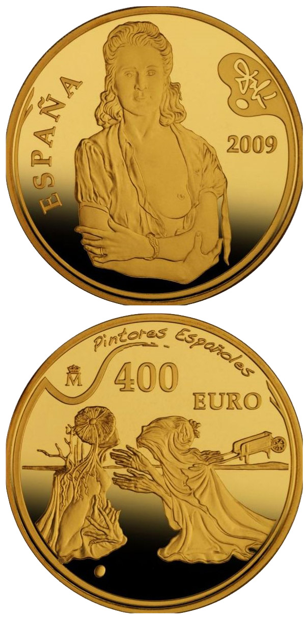 Gold 400 euro coins the 400 euro coin series from spain for Wohnlandschaft 400 euro