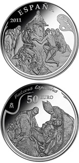 50 euro coin 4th Series Spanish Painters - El Greco | Spain 2011