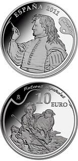10 euro coin 4th Series Spanish Painters - Murillo | Spain 2011