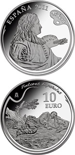 10 euro 4th Series Spanish Painters - Ribera - 2011 - Series: Silver 10 euro coins - Spain