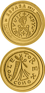 20 euro 3rd Series Numismatic Treasures – Leovigild Visigothic tremissis - 2011 - Series: Gold 20 euro coins - Spain