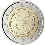 2 euro coin 10th Anniversary of the Introduction of the Euro | Spain 2009