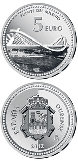 5 euro Ourense - 2012 - Series: Provincial Capitals - Spain