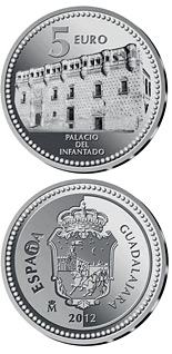 5 euro coin Guadalajara | Spain 2012