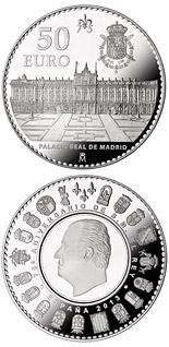50 euro coin 75th birthday of His Majesty the King | Spain 2013