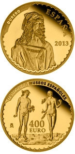 400 euro Durer - 2013 - Series: Gold 400 euro coins - Spain