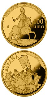 400 euro Spanish Museum Treasures III: Goya - 2015 - Series: Gold 400 euro coins - Spain
