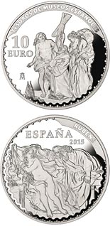 10 euro coin Spanish Museum Treasures III: Rubens | Spain 2015