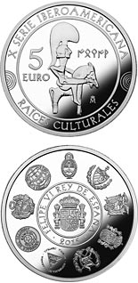 10 euro coin 10th Ibero-American Series | Spain 2015