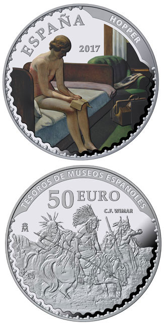 Silver 50 Euro Coins The 50 Euro Coin Series From Spain From Newest