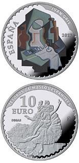 10 euro Spanish Museum Treasures V: 25th anniversary of the Thyssen-Bornemisza Museum - 2017 - Series: Silver 10 euro coins - Spain