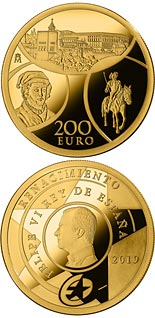 200 euro coin The Renaissance | Spain 2019