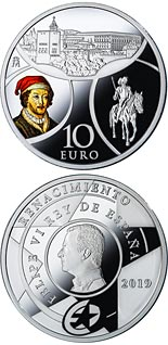 10 euro coin The Renaissance | Spain 2019