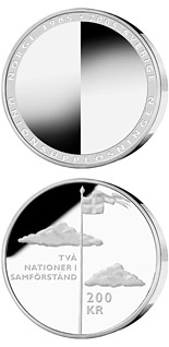 200 krona 100th anniversary of the dissolution of the Swedish-Norwegian union - 2005 - Series: Silver coins - Sweden