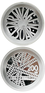 200 krona 150th anniversary of the Swedish railway - 2006 - Series: Silver coins - Sweden