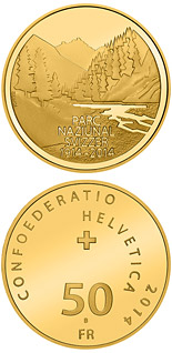 50 franc coin 100 years of the Swiss National Park | Switzerland 2014