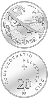 20 francs  	  Solar Impulse - 2015 - Series: Silver 20 francs coins - Switzerland