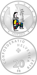 20 franc coin 100 years of Circus Knie | Switzerland 2019