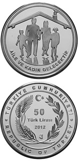 50 Lira coin Family | Turkey 2012