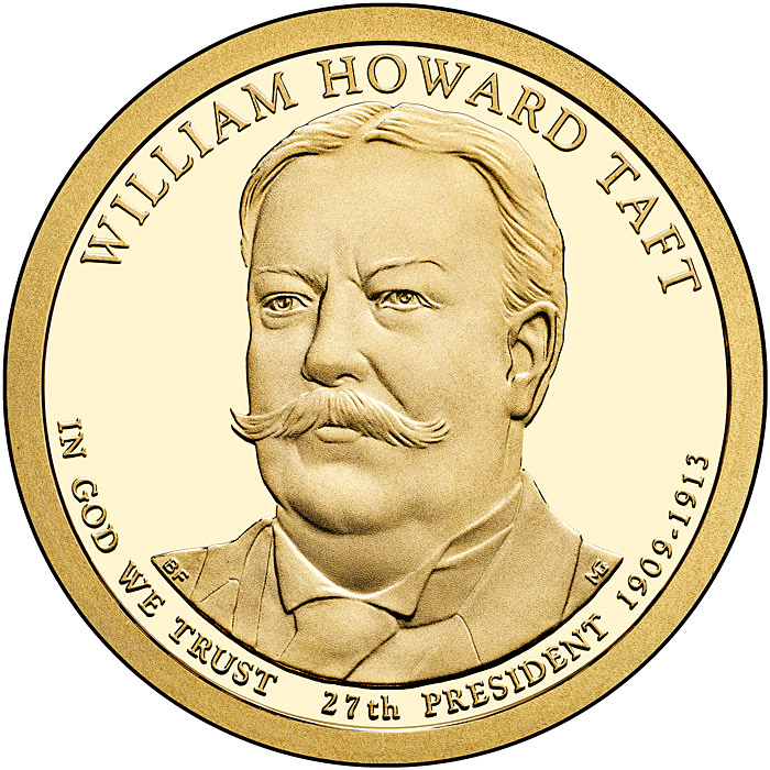 Image of a coin 1 dollar | USA | William Howard Taft (1909-1913) | 2013