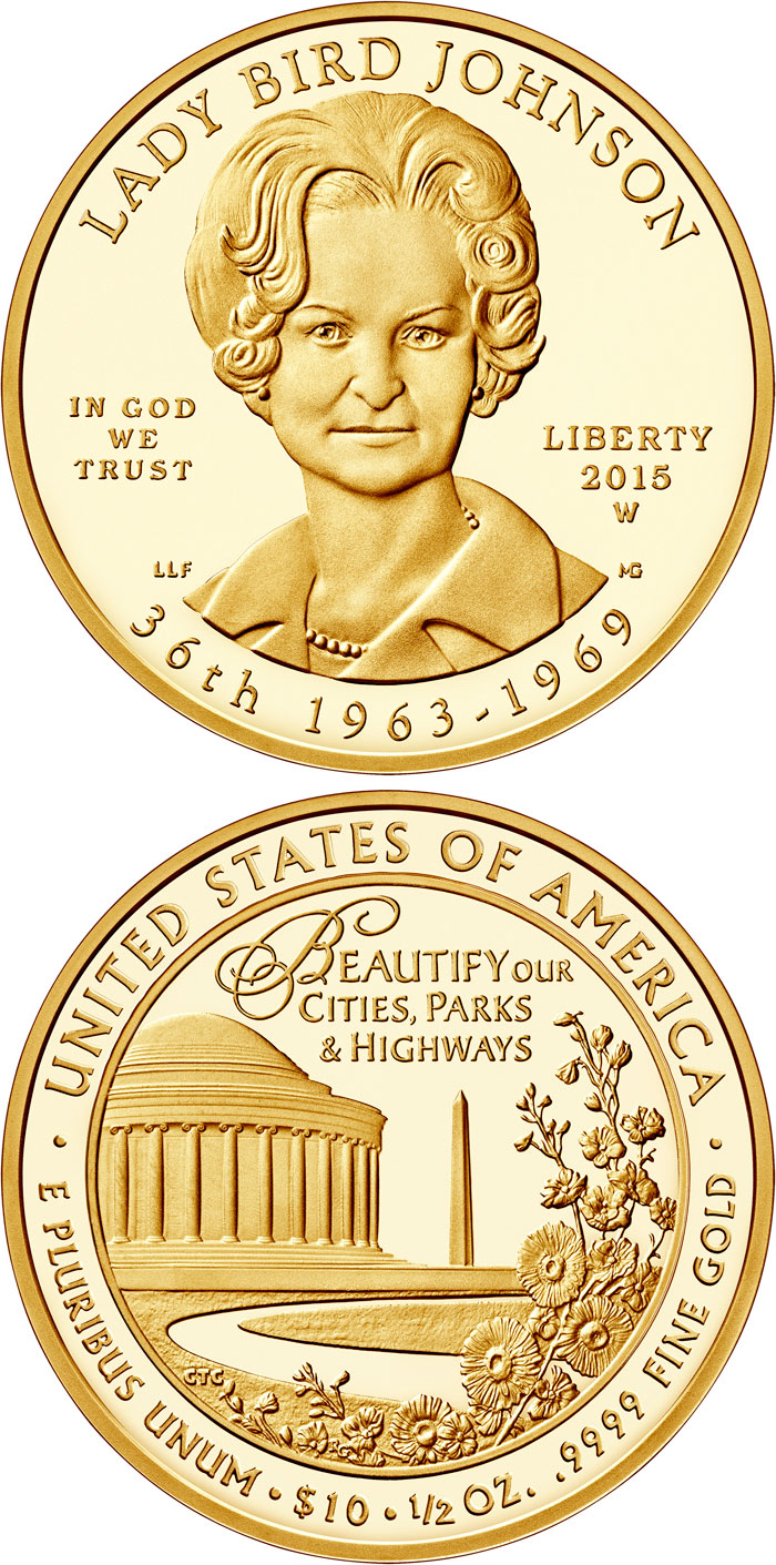 Image of 10 dollars coin – Claudia Taylor