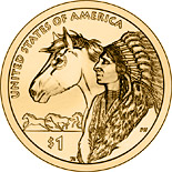 1 dollar Trade Routes in the 17th Century  - 2012 - Series: Native American Dollar Coin Program - USA