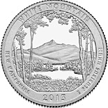 50 cents White Mountain National Forest  - 2013 - Series: America the Beautiful Quarters - USA