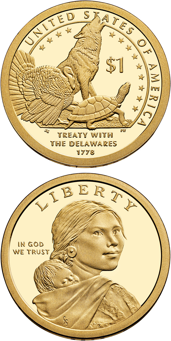 Native American Dollar Coin Program The 1 Dollar Coin
