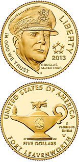 5 dollar coin 5-Star Generals | USA 2013