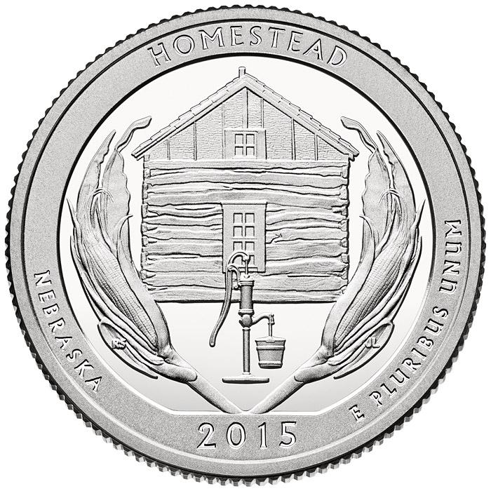 25 центов (квотер) - квотер штата небраска 2006 года p сообщить об ошибке