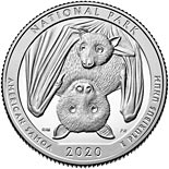 25 cents coin National Park of American Samoa | USA 2020