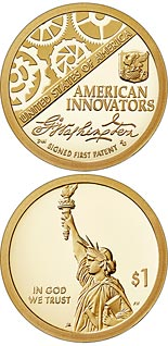 1 dollar coin American Innovators - Introductory Coin | USA 2018