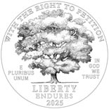 100 dollar coin Right to Petition | USA 2025
