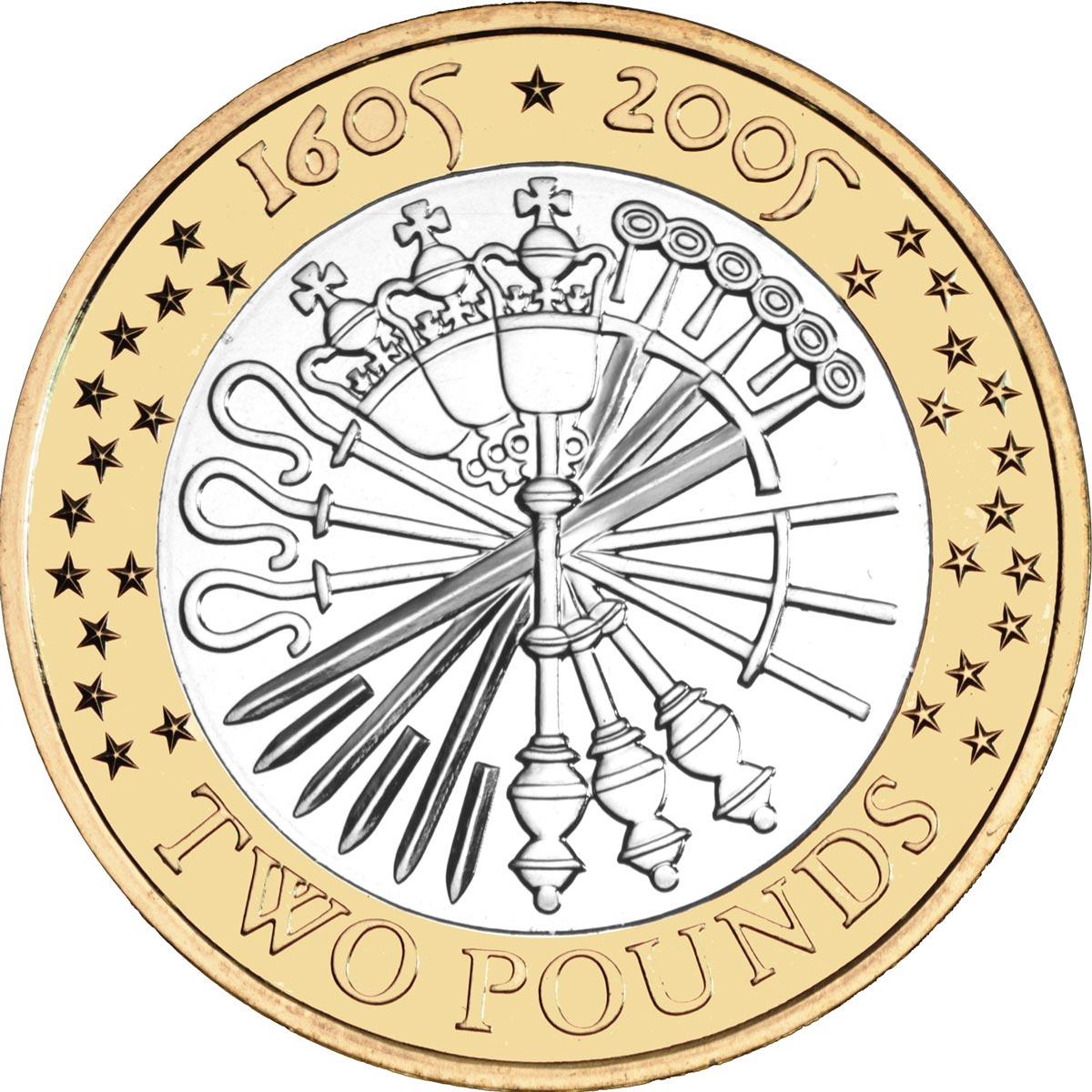 2 pound coin rare