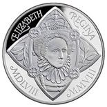 5 pound coin The 450th anniversary of the accession of Elizabeth I | United Kingdom 2008
