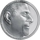 5 pounds Prince Philip 90th Birthday - 2011 - Series: Silver 5 pounds coins - United Kingdom