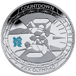 5 pound coin Countdown to London 2012 – 3 | United Kingdom 2009