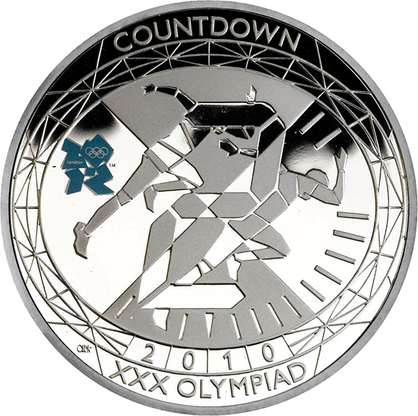 5 pounds Countdown to London 2012 – 2 - 2010 - Series: London 2012 Olympic and Paralympic Games - United Kingdom