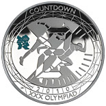 5 pound coin Countdown to London 2012 – 2 | United Kingdom 2010