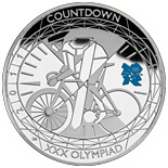 5 pound coin Countdown to London 2012 – 1 | United Kingdom 2011