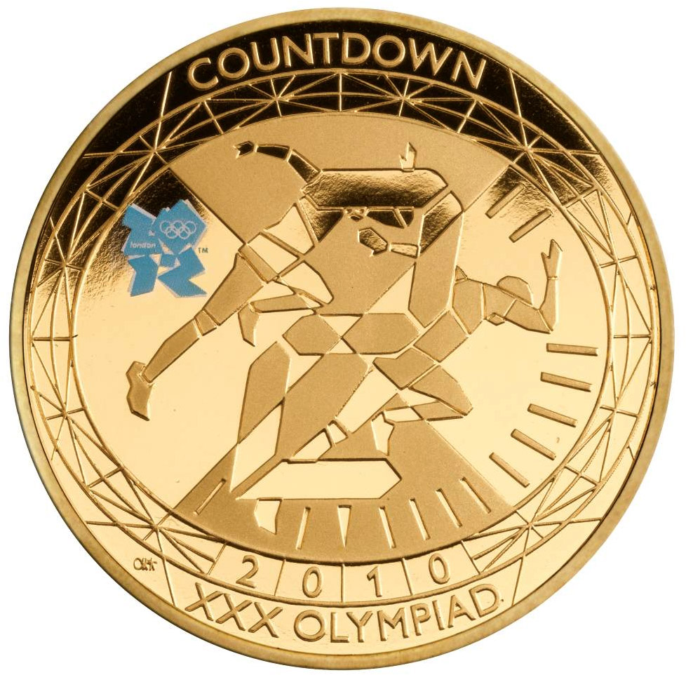 London 2012 olympic and paralympic games coin series from united 5 pound coin countdown to london buycottarizona Images