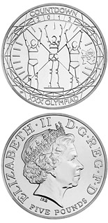 5 pound coin Countdown to London 2012 | United Kingdom 2012