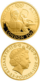 25 pound coin Higher - Apollo  | United Kingdom 2011