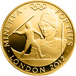 25 pound coin Stronger - Minerva | United Kingdom 2012