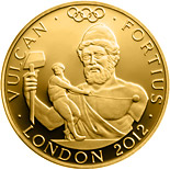 25 pound coin Stronger - Vulcan | United Kingdom 2012