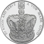 5 pounds 60th Anniversary of the Queen's Coronation - 2013 - Series: Silver 5 pounds coins - United Kingdom