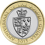 2 pound coin The 350th Anniversary of the Guinea | United Kingdom 2013