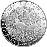 10 pounds 60th Anniversary of Coronation - 2013 - United Kingdom