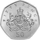 50 pence coin 100th Anniversary of the Birth of Christopher Ironside | United Kingdom 2013